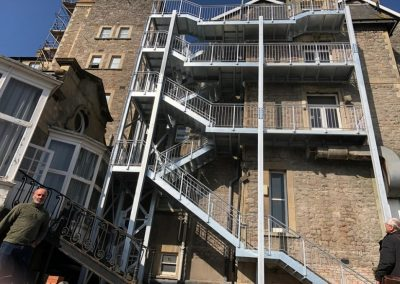 Fire Escape Stairs For Flats-min