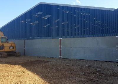 Side shot of agricultural building