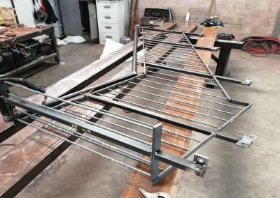 steel fabrication of railings